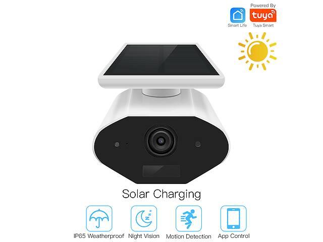 бу Уличная WIFI видеокамера Tuya Smart HD 1080P с солнечной панелью в Житомире