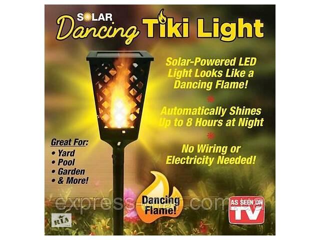Вуличний ліхтар на сонячної панелі Tiki Light- объявление о продаже  в Харкові