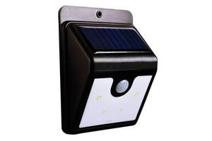 Уличный LED светильник с датчиком движения на солнечной панели Ever Brite (Эвер Брайт) 4 LED