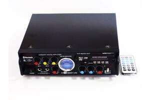 Усилитель мощности звука  BSW AV-339BT с Bluetooth и караоке