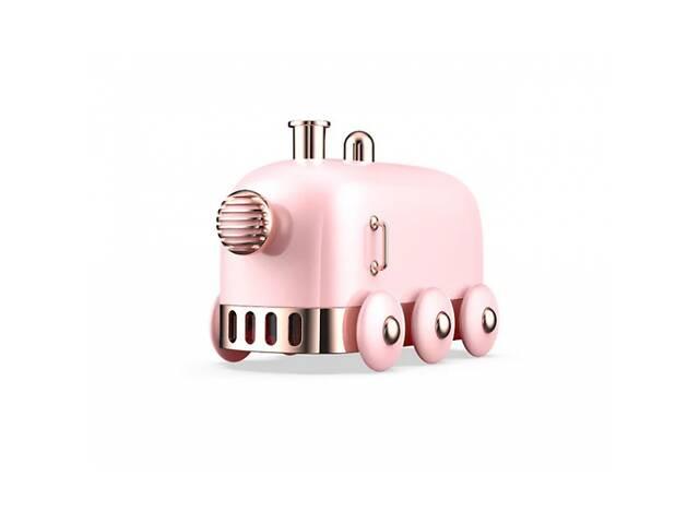 купить бу Увлажнитель воздуха ночник Humidifier Train Портативный с подсветкой Pink (153976P-FL) в Києві