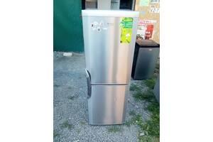 ВЕКО двох камереий холодильник б.у з Європи в нержавійці