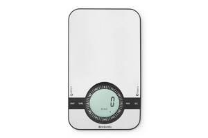 Весы цифровые кухонные Brabantia Profile