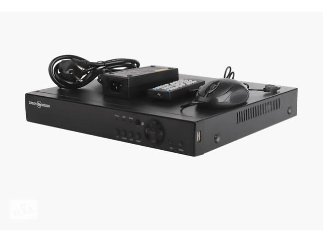продам  Видеорегистратор для гибридных, ahd и ip камер green vision GV-A-S034/16 1080N бу в Киеве