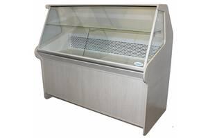 Витрина холодильная ДНIПРОторг среднетемпературная с охлаждаемым боксом