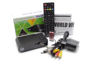 World Vision T65M PVR FTA - эфирный цифровой приемник стандарта DVB-T/T2