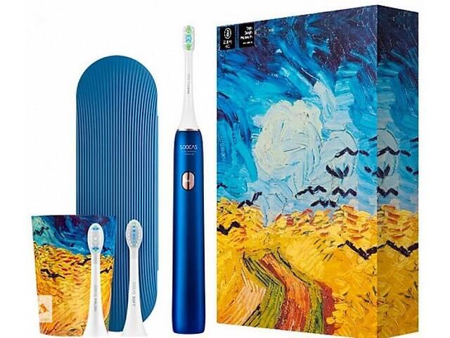Xiaomi Soocas X3U Van Gogh Museum Design Sonic Blue Звукова електрична зубна щітка- объявление о продаже  в Запоріжжі