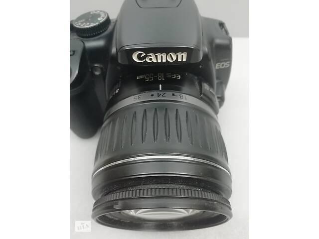 купить бу Дзеркальна камера фотоапарат Canon EOS 400D і об'єктив Canon EFS 18-55 mm в Києві