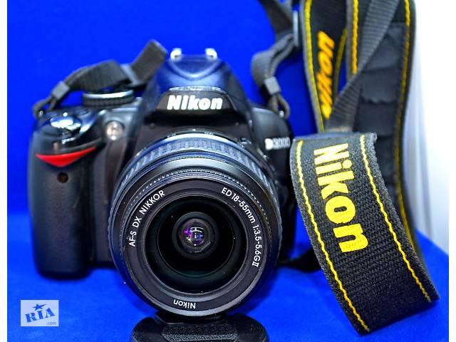 продам Зеркальный Фотоаппарат Nikon D3000 бу в Черновцах