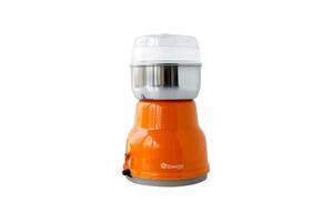 Жерновая Кофемолка для дома Domotec MS 1406 роторная Orange