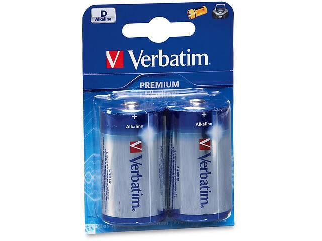 бу Батарейка Verbatim D alcaline * 2 (49923) в Киеве