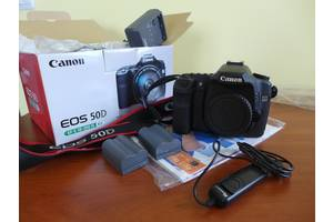 б/у Зеркальные фотоаппараты Canon EOS 50D