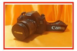 б/в Фотоапарати, фототехніка Canon EOS 600D Kit (18-55 IS)