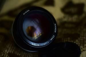 б/у Портретные объективы Nikon