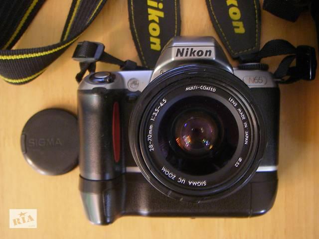бу Пленочная, зеркальная, однообъективная б/у камера Nikon N65. в Одессе