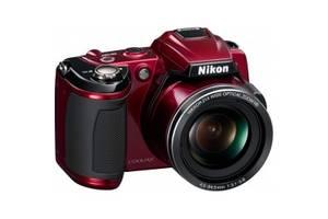 б/у Цифровые фотоаппараты Nikon CoolPix L120 Red