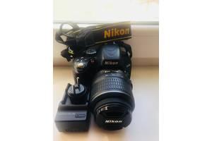 б/в Фотоапарати, фототехніка Nikon D5000 Kit (18-55 VR)