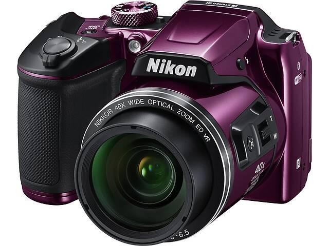 продам Цифровой фотоаппарат Nikon Coolpix B500 Purple (VNA952E1) бу в Києві