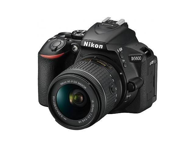 купить бу Цифровой фотоаппарат Nikon D5600 AF-P 18-55 VR Kit (VBA500K001) в Киеве