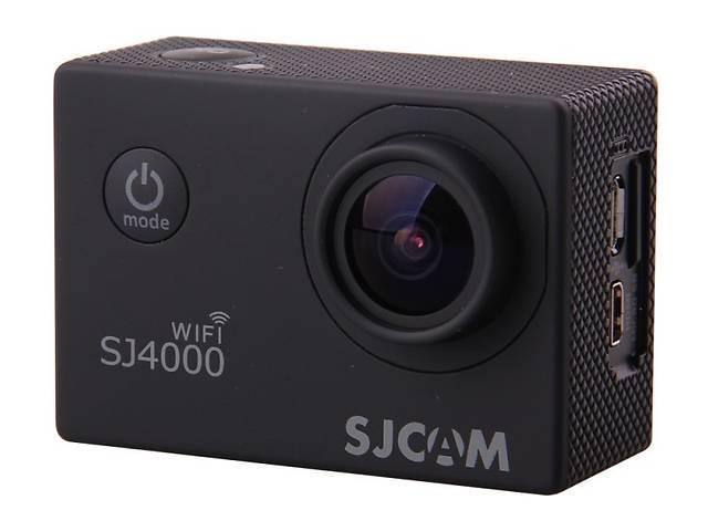 купить бу Action камера SJCAM SJ4000 WiFi (black) в Харькове