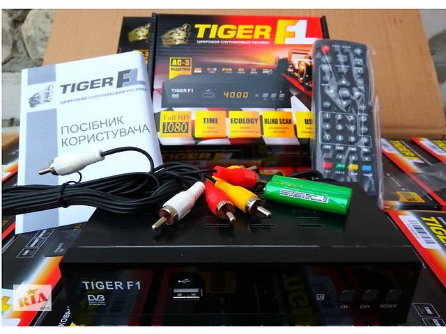 продам Спутниковый HD ресивер Tiger F1 бу в Запоріжжі