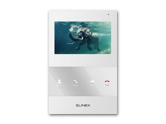 купить бу Видеодомофон Slinex SQ-04M White в Киеве