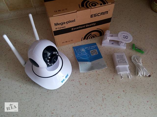 купить бу WIFI камера ESCAM G02 с качеством записи 720P в Киеве