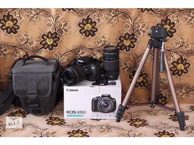 купить бу Canon EOS 650D / Rebel T4i в Каменец-Подольском