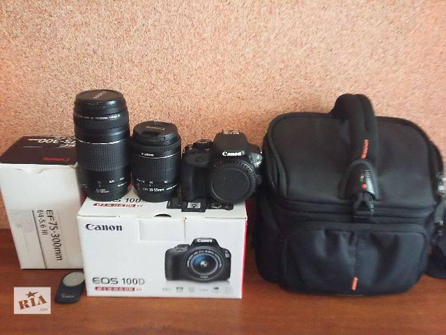 продам Canon 100d 2обьектива бу в Каменец-Подольском