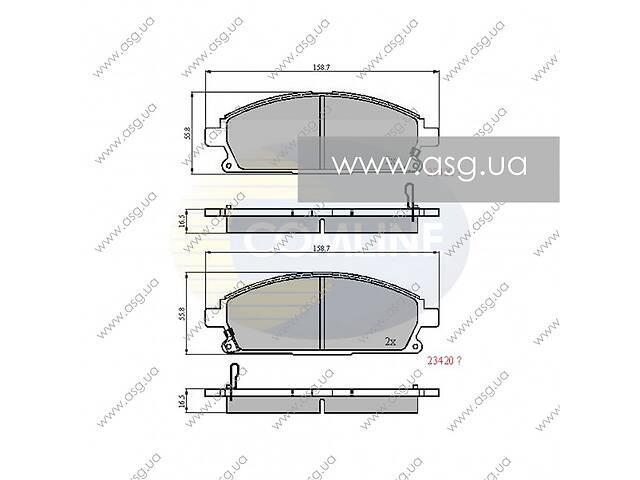 CBP3591 Comline - Гальмівні колодки до дисків - Новое- объявление о продаже  в Львове