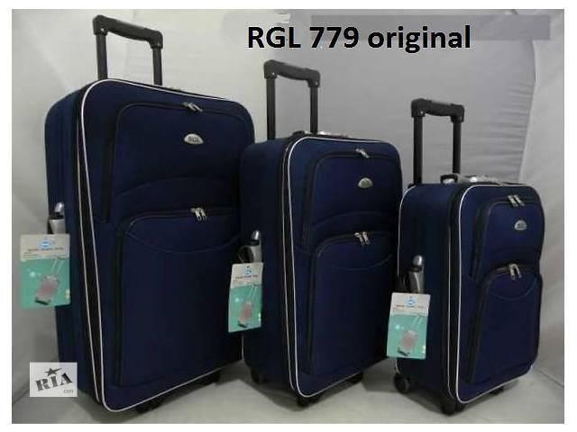 продам Чемодан дорожный RGL 779 сумка на колесах Poland плюс подарок бу в Запорожье