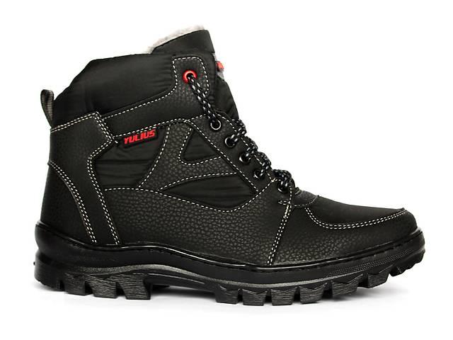 купить бу Черные ботинки для мужчин в спортивном стиле. в Днепре (Днепропетровск)