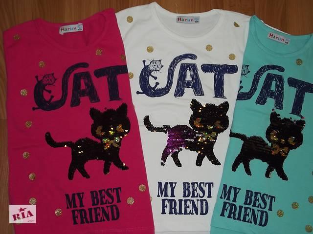продам Детские  футболки с пайетками- перевёртыши. бу в Лисичанске