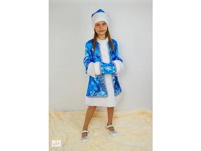 Детский новогодний костюм Снегурочки, возраст 3-10 лет- объявление о продаже  в Киеве