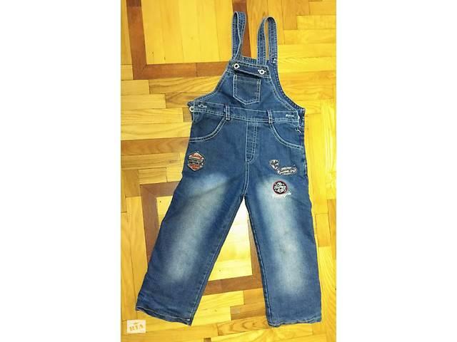 продам Комбінезон джинсовий, 104см бу в Киеве