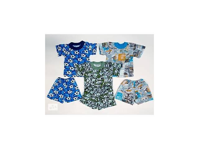купить бу Наборы детские футболка+шорты на мальчиков р.52,56,60,64. От 4шт по 35грн в Александрие (Кировоградской обл.)