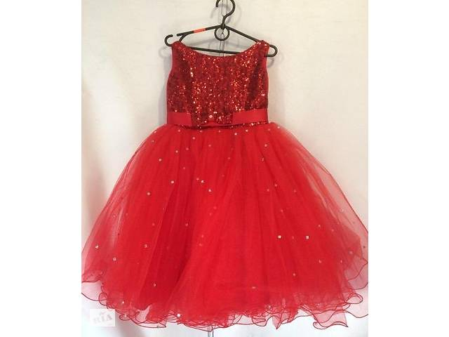 Ошатне дитяче плаття. 6-7 років. Червоне. - Дитячий одяг в Луцьку на ... 4f062d1123e5a