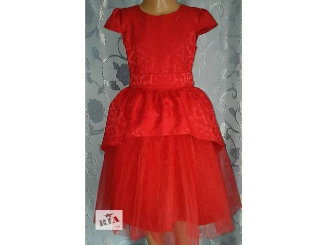 продам Ошатне дитяче плаття з жаккарда з фатином 95bcf610e3a8c