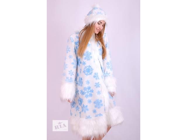 продам Новорічний дорослий дитячий карнавальний костюм Снігуроньки. бу в  Запоріжжі 37949c5290a84