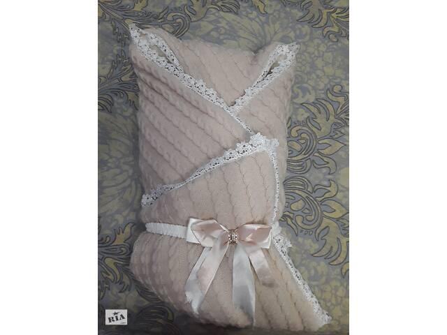 """бу Прода """"Конверт-одеяло"""" на выписку для девочки. в Херсоне"""