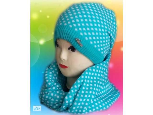 Шапка на девочку с хомутом - Дитячий одяг в Дубні (Рівненській обл ... cfdbb2aa6d9c2