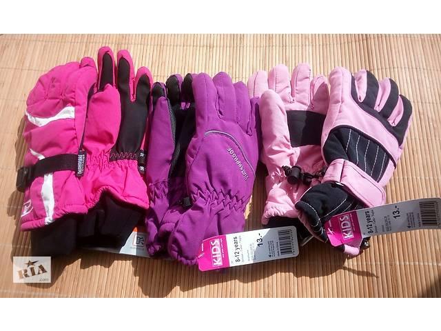 Термо рукавички дівчинка 8-9-10-11-12 років Швейцарія рукавиці рукавички- объявление о продаже  в Тульчине