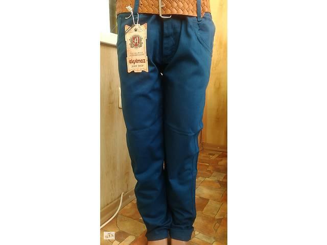 продам Зелені Літні Котонові штани на хлопчика 8-12 років 122-152 зростання  бу 926962ed1a3e4