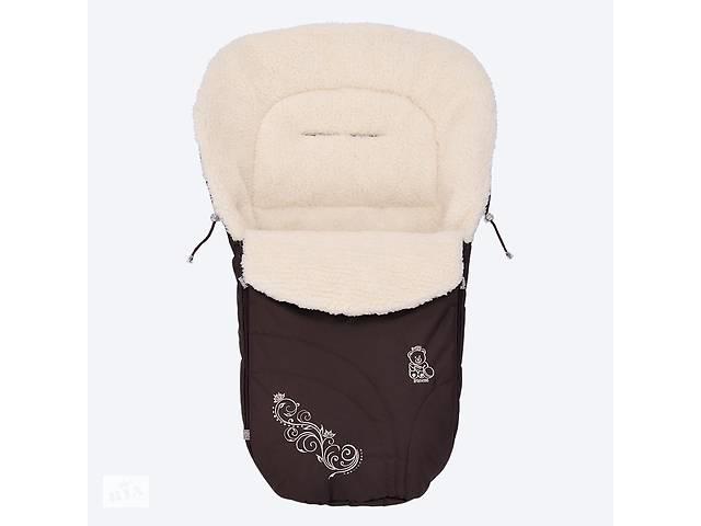 продам Зимний конверт Baby Breeze 0306 (шоколад) бу в Дубні