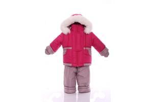 Зимний костюм с меховой подстежкой Ноль Малиновый