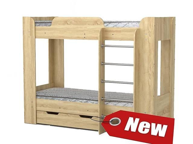 Дитяче 2-ярусне Ліжко з 2-ма ящиками- объявление о продаже  в Києві