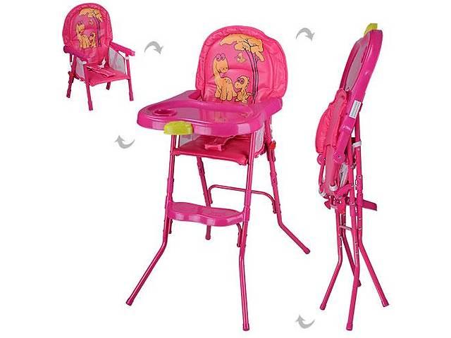 бу Детский стульчик для кормления Bambi HC100A Розовый в Одессе