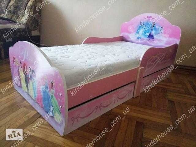 продам Кровать для девочки Дисней Принцессы Доставка бесплатно! бу в Львове