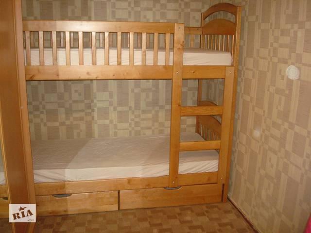 продам Кровать Карина с ящиками и матрасами бу в Киеве