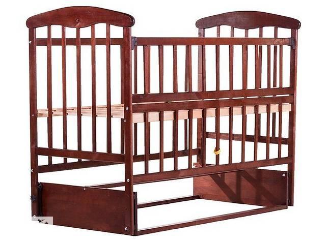 бу Кровать Наталка с откидной боковушкой и маятником темная в Херсоне